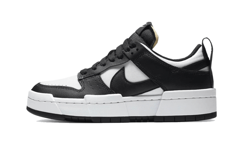 Dunk Low Disrupt Black White