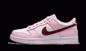 Dunk Low Pink Red White
